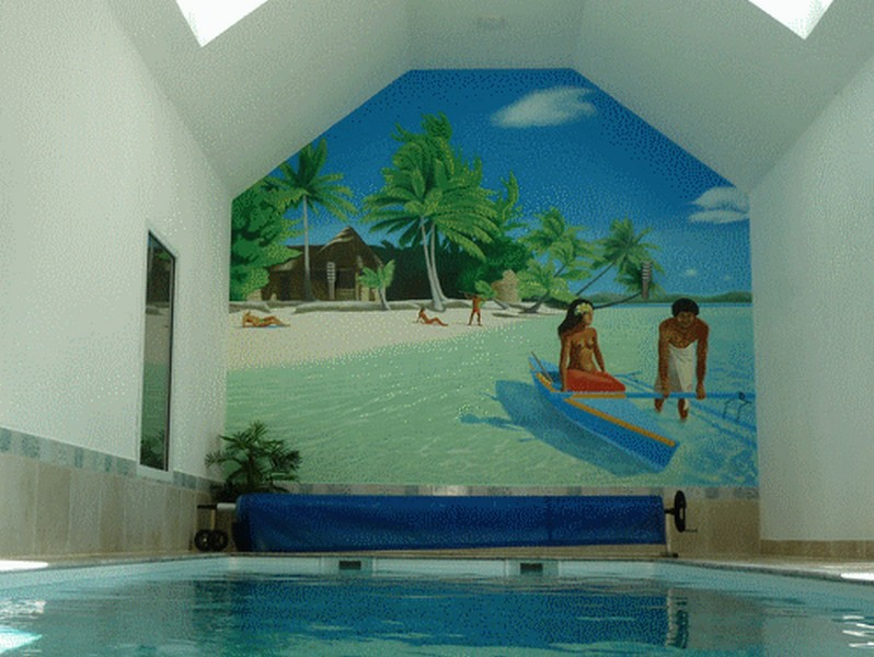 Fresque Tahiti